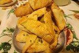 Пирожки в духовке, бездрожжевые