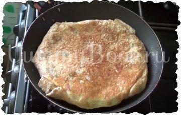 Закуска из лаваша и сосисок с яйцами - шаг 3