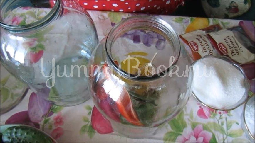 Огурцы с лимонной кислотой на зиму - шаг 2