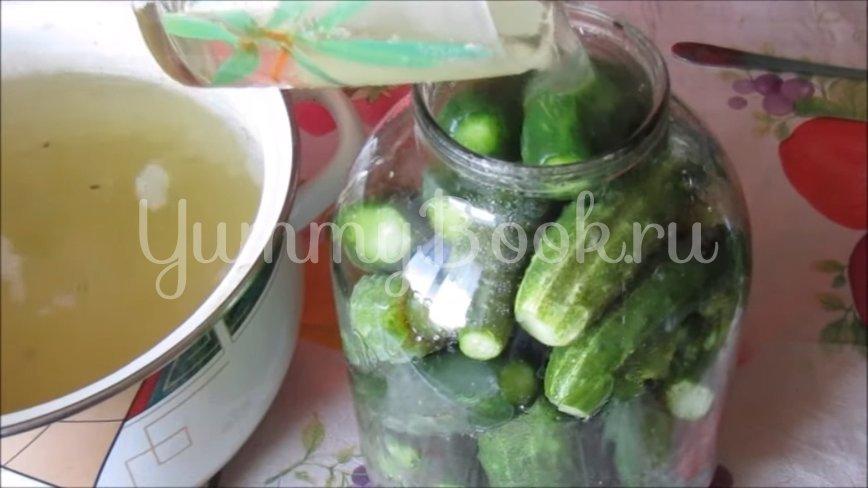 Огурцы с лимонной кислотой на зиму - шаг 4