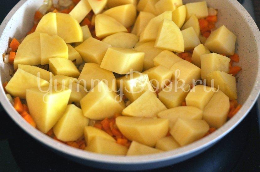 Картофель в сметане - шаг 3