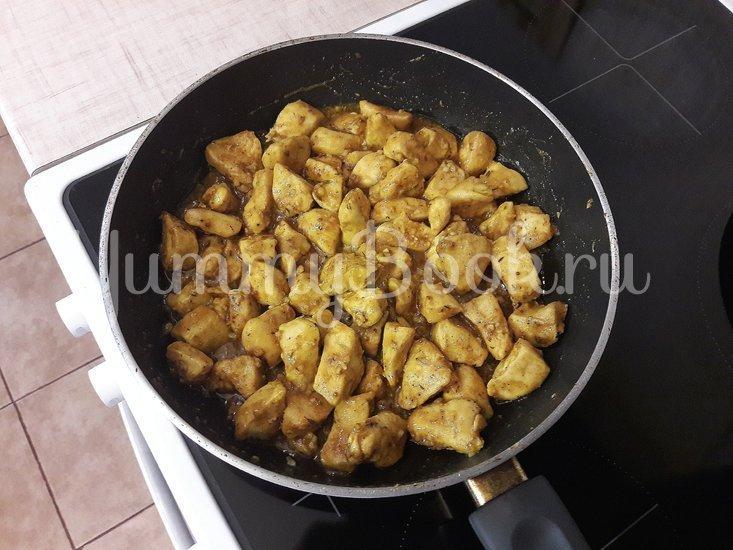 Куриное филе в горчично-медовой глазури - шаг 8