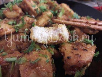 Куриное филе в горчично-медовой глазури - шаг 11