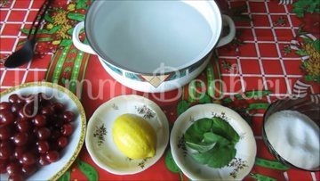 Вишневый лимонад - шаг 1