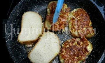 Горячие бутерброды на сковороде - шаг 5