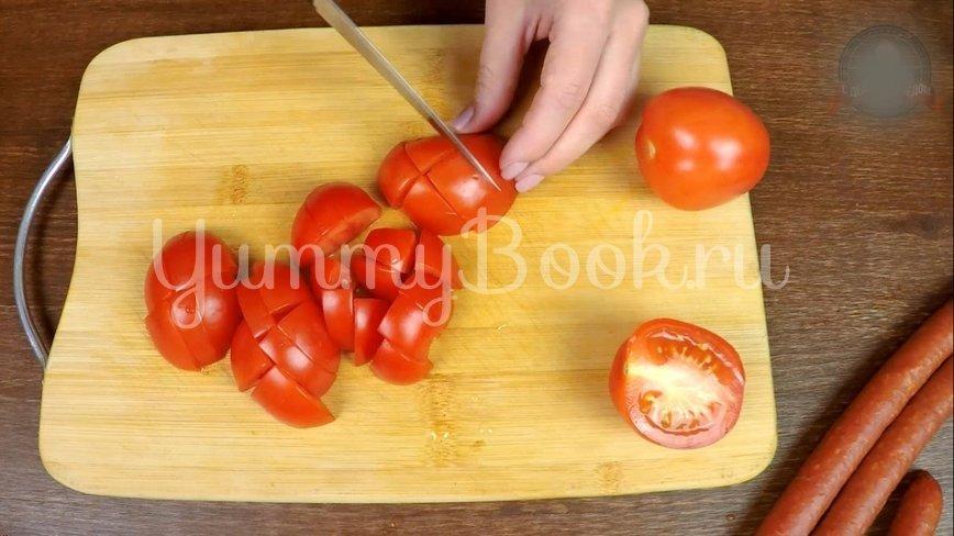 Охотничьи колбаски с картофелем в горшочках по-домашнему - шаг 5