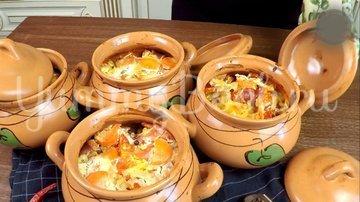 Охотничьи колбаски с картофелем в горшочках по-домашнему - шаг 12