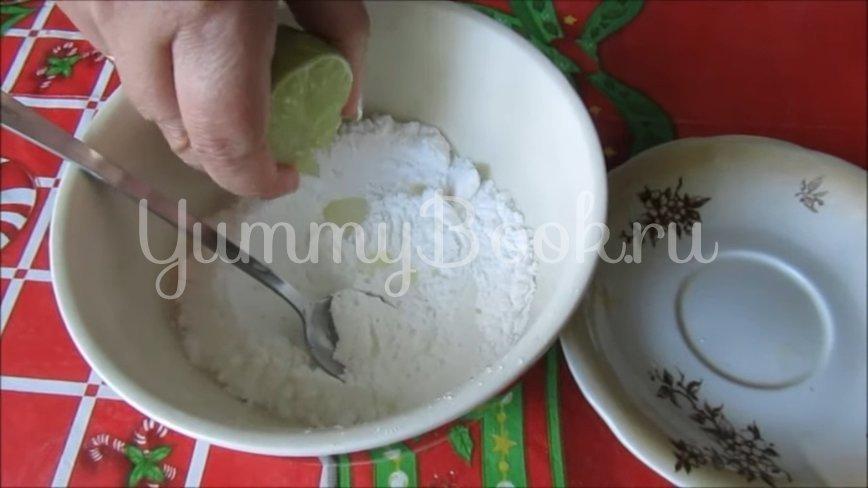 Кекс «Мохито» (Постный рецепт)  - шаг 4