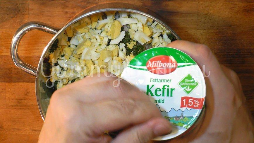 Холодный литовский борщ (шалтибарщай) - шаг 7