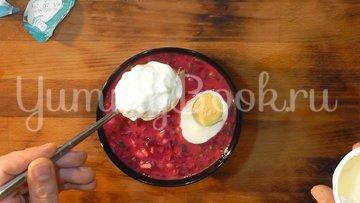 Холодный литовский борщ (шалтибарщай) - шаг 10