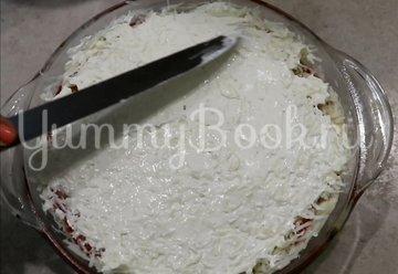 Свинина с грибами, помидорами и луком - шаг 10
