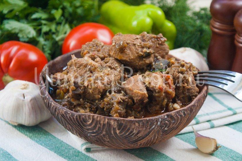 Мясо с баклажанами - шаг 9