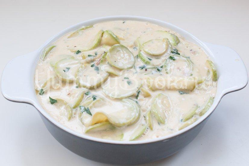 Кассероль из кабачков с плавленым сыром - шаг 9