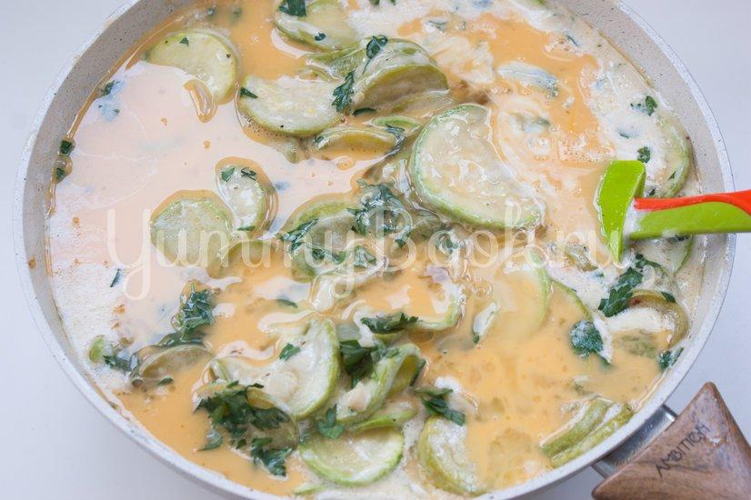 Кассероль из кабачков с плавленым сыром - шаг 8