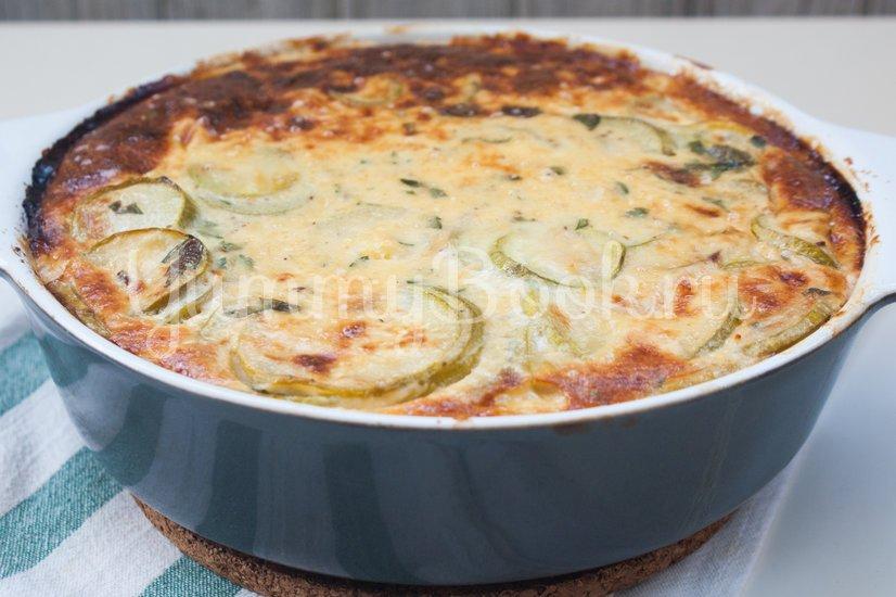 Кассероль из кабачков с плавленым сыром - шаг 10