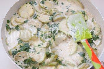 Кассероль из кабачков с плавленым сыром - шаг 6