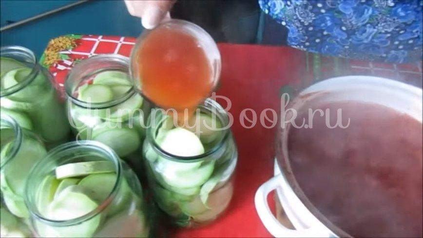 Консервированные кабачки с кетчупом чили - шаг 5