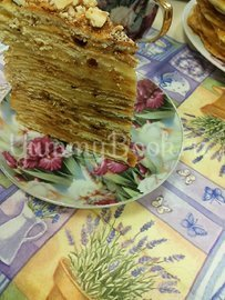 Торт на сковороде - шаг 7