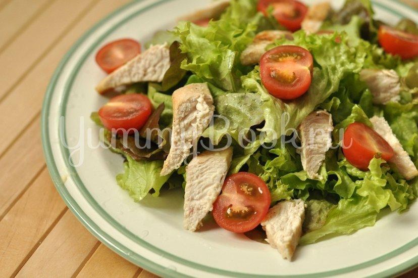 Салат Цезарь с курицей - шаг 8