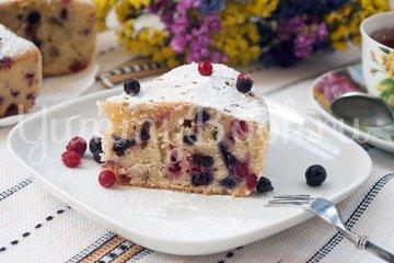 Пирог со смородиной в мультиварке - шаг 9