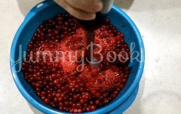 Джем-желе из красной смородины - шаг 1