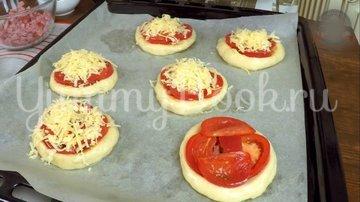 Мини пиццы из пышного теста - шаг 12