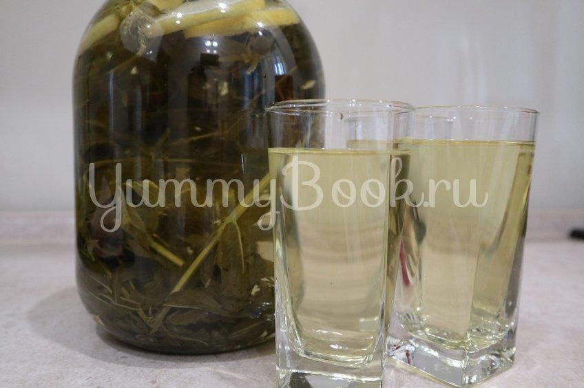 Лимонад из лимона и мяты
