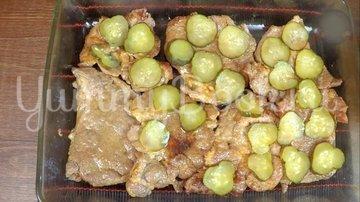 Отбивное мясо в соусе под пюре  - шаг 11