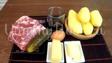 Отбивное мясо в соусе под пюре  - шаг 1