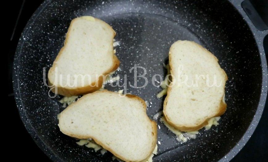 Горячие бутерброды с сыром и картофелем - шаг 4