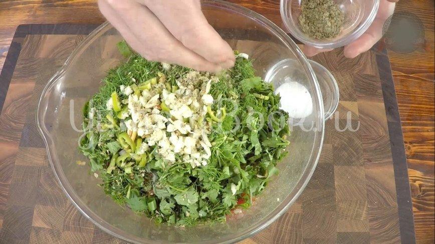 Овощной салат барбекю - шаг 6