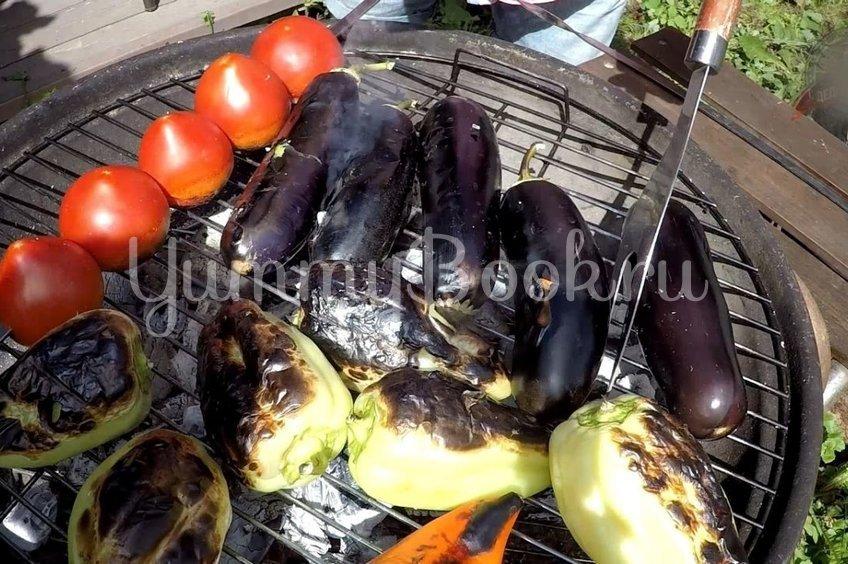 Овощной салат барбекю