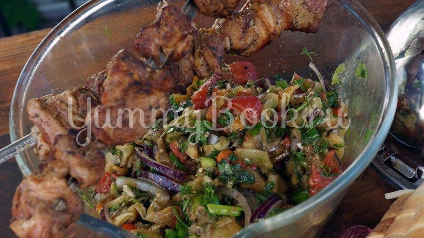 Овощной салат барбекю - шаг 8