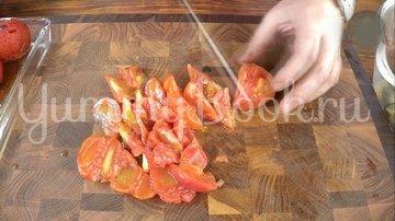 Овощной салат барбекю - шаг 4