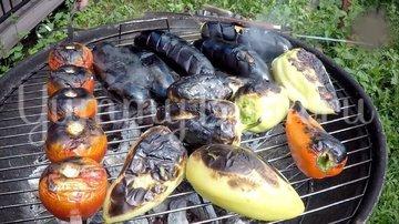Овощной салат барбекю - шаг 1
