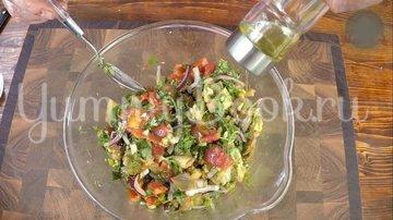 Овощной салат барбекю - шаг 7