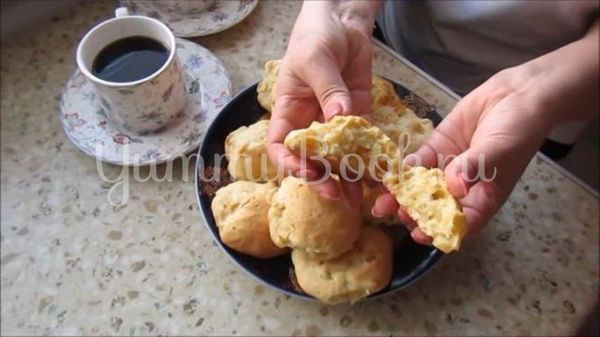 Яблочное печенье на сметане  - шаг 6