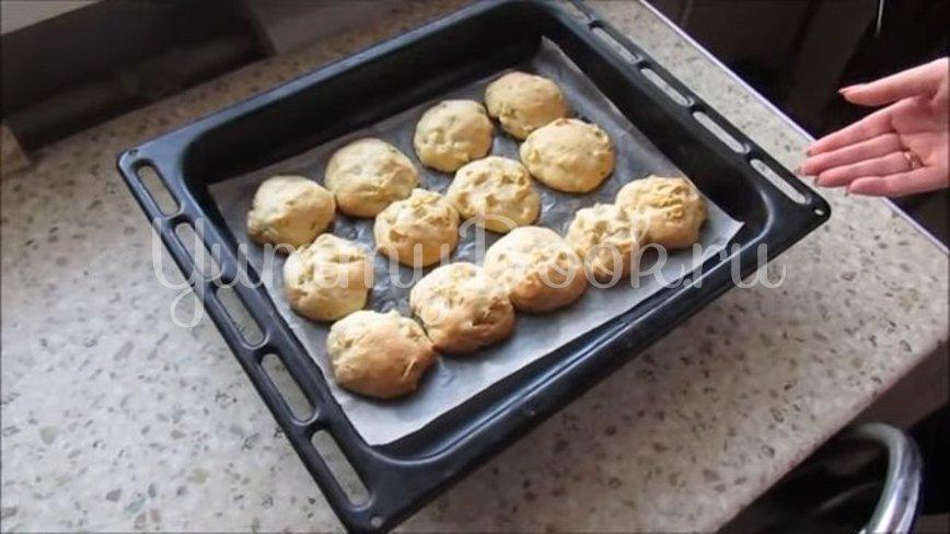 Яблочное печенье на сметане  - шаг 5