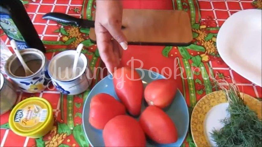 Маринованные помидоры - шаг 1
