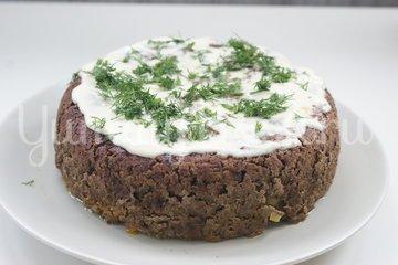 Печеночный пирог в мультиварке - шаг 6