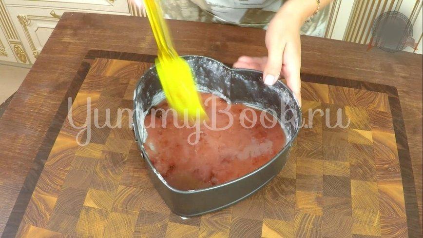 Пирог «Перевёртыш» с абрикосами  и  карамелью - шаг 4