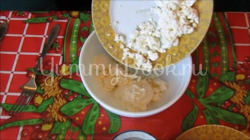 Творожный десерт с ежевикой  - шаг 2