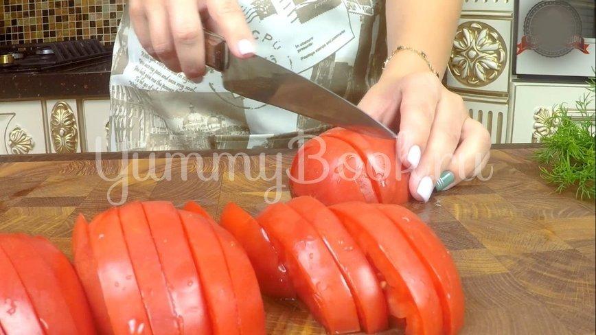 Закуска из помидоров в горчичном соусе  - шаг 2