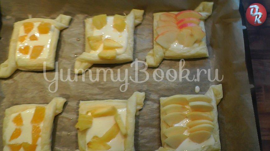 Творожные пирожные с фруктами - шаг 8