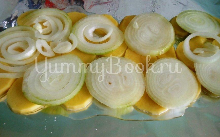 Линь, фаршированный грибами, запечённый в фольге - шаг 13