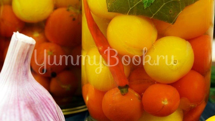 Сладкие маринованные помидоры на зиму - шаг 11
