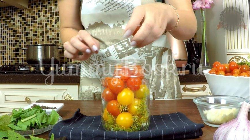 Сладкие маринованные помидоры на зиму - шаг 5