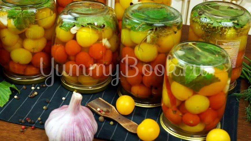 Сладкие маринованные помидоры на зиму - шаг 10