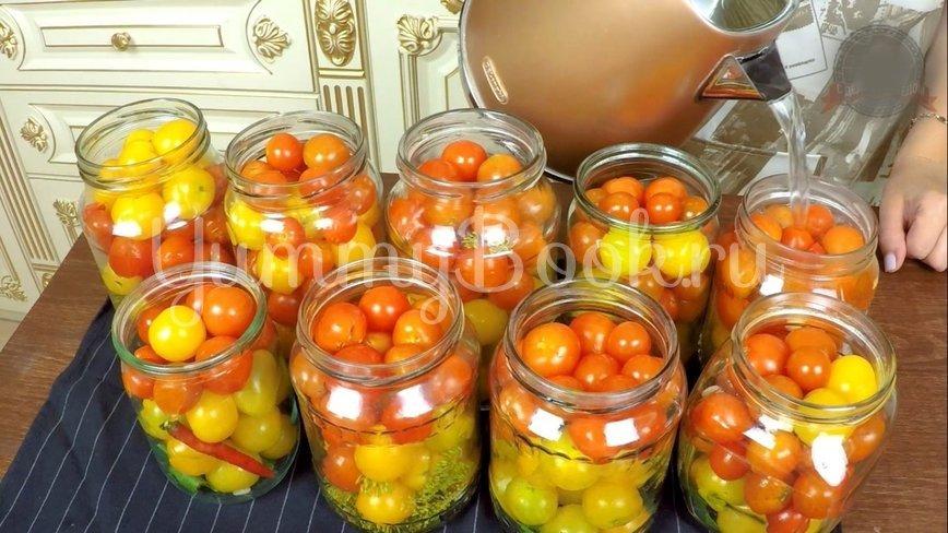 Сладкие маринованные помидоры на зиму - шаг 6