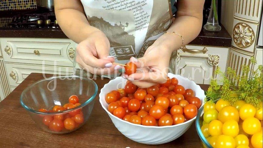 Сладкие маринованные помидоры на зиму - шаг 2